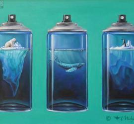 """""""Equilibri"""" olio su tela  Michele Nave"""
