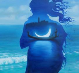 Venezia e la luna