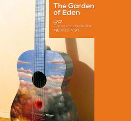The Garden of Eden oil and classic guitar